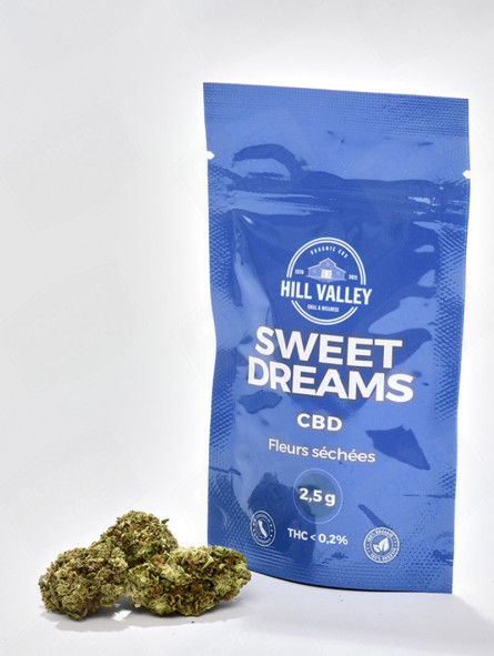 10 sachets de 2,5 grammes de cbd sweet dreams